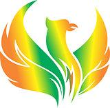 flying phoenix logo