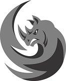 logo rhino circular