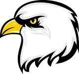 logo eagle wildlife cartoon
