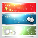 Decorative Christmas headers