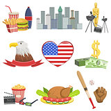 American National Symbols Set