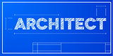 blueprint concept Architect