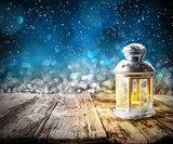 Xmas lantern light