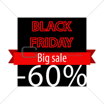 Black Friday offer banner template