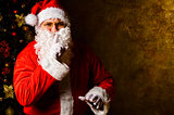 Santa keeps Christmas secrets