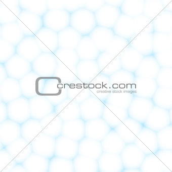 Cells or cotton balls abstract background