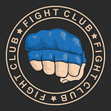 emblem about fighting club.