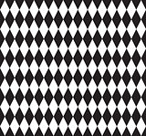 Abstract geometric seamless pattern vector black and white pattern