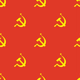 Ussr flag seamless pattern