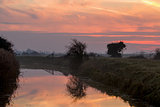 Dawn over Pevensey Levels