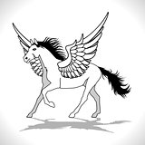 Pegasus Winged Stallion