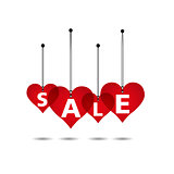 Heart Sale Tag