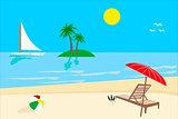 Sunny Day, Beach