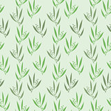 Seamless pattern branches of eucalyptus.