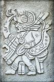 Ancient Mayan hieroglyph