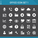 Office 1 icon set