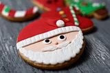 assortment of christmas cookies