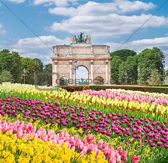Arc de Triomphe du Carrousel, Paris,