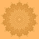 Mandala Isolated. Round Ornament