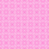 Pink Ornamental Seamless Line Pattern