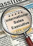 We're Hiring International Sales Executive. 3D.