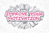 Improve Your Motivation - Business Concept.