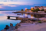 Island of Vir beach and waterfront