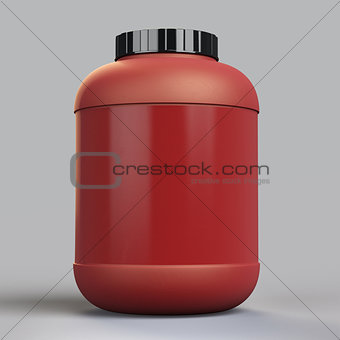 blank supplement bottle template