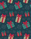 Present boxes seamless pattern.