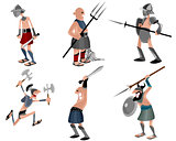 Six gladiators set