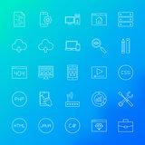 Coding Line Icons