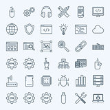 Line Programming Icons