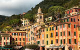 Colorful Houses in Portofino - Liguria Italy