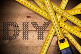 Diy Symbol and Tape Measures