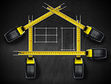 House Project - Tape Measures Tools