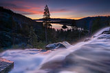 Eagle Falls Early Morning. Lake Tahoe, California.