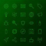 Programming Skills Line Icons