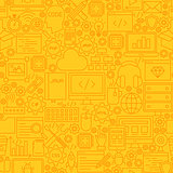 Programming Yellow Line Tile Pattern