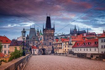 Charles Bridge, Prague.