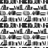 Books seamless background