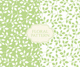 Seamless floral pattern, vintage background