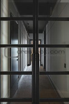 Corridor in modern style
