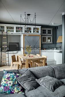 Kitchen in modern style