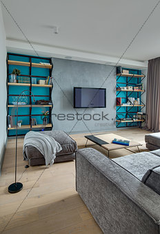 Room in modern style