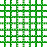 Net of rope in green design