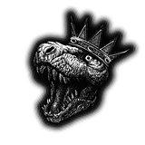 Tyrannosaurus Dinosaur . Hand drawn. Vector eps8