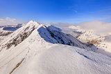 Moldoveanu Peak in winter