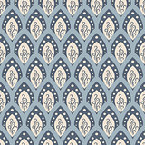 Abstract fish scale pattern in oriental style.