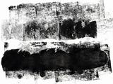 black grunge paint