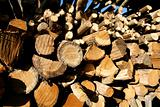 heap of wood